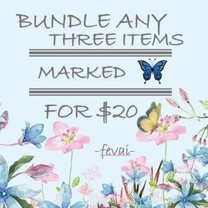 Other - 🦋 3 Items for $20 ONLY 🦋